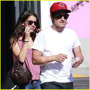 Hunger Games' Josh Hutcherson & Girlfriend Claudia Traisac Go Shopping!
