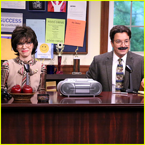 Julianna Margulies & Jimmy Fallon Are Hilarious School Principals Who Sing the Morning Announcements (Video)