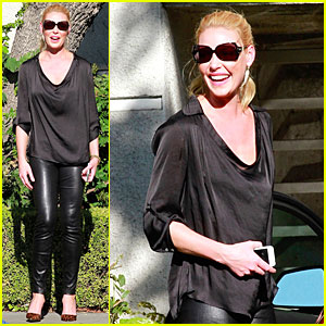 Katherine Heigl Still Looks Happy Despite Reported Fender Bender