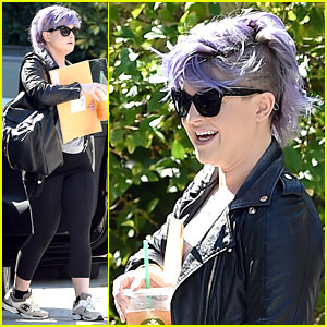 Kelly Osbourne Is Smiling Again After Tribute for Joan Rivers