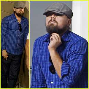 Leonardo DiCaprio Watches Novak Djokovic Defeat Andy Murray at US Open 2014