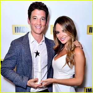 Miles Teller Brings Girlfriend Keleigh Sperry to Toronto Film Fest!