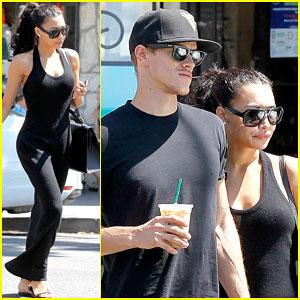 Naya Rivera & Husband Ryan Dorsey Look Happy Together After Breakfast