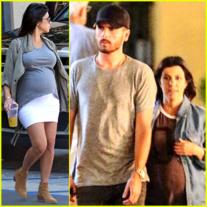 Pregnant Kourtney Kardashian Might Faint Because of This