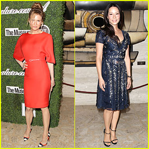 Renee Zellweger & Lucy Liu Honor Carolina Herrera at Couture Council Award Luncheon