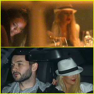 Rihanna & Christina Aguilera Dine Tables Away at Same Restaurant!