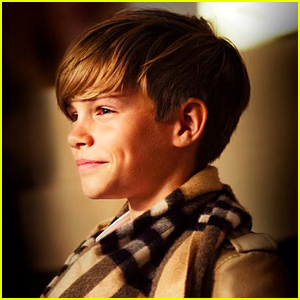 Romeo Beckham Stars in Burberry's Latest Campaign - See the Behind the Scenes Pic!