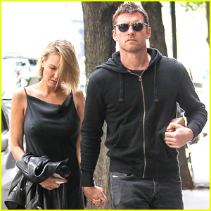 Sam Worthington & Lara Bingle Hold Hands for Romantic Day Date!