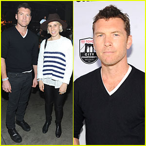 Sam Worthington & Zosia Mamet Kick Off Dew Tour Brooklyn