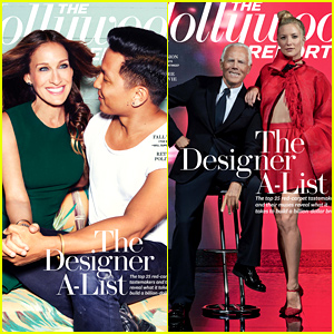 Sarah Jessica Parker & Kate Hudson Are Fashion Muses for THR's Top Designers