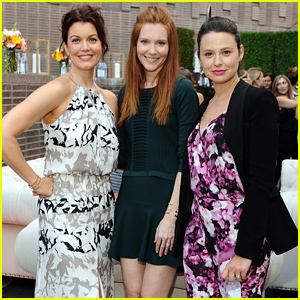 'Scandal' Meet Up! Katie Lowes, Bellamy Young, & Darby Stanchfield Pose at the Parker on Spring Launch!