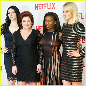 Taylor Schilling & 'OITNB' Cast Brighten Up the Red Carpet at Netflix Launch in Berlin!