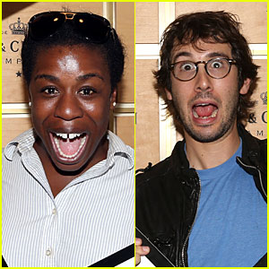 Uzo Aduba & Josh Groban's Facial Expressions Make Us Laugh at US Open!