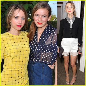Zoe Kazan Is A Knock Out at Three Fashion Shows During New York Fashion Week
