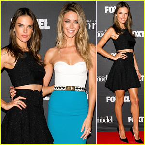Alessandra Ambrosio Joins Judge Jennifer Hawkins at 'Australia's Next Top Model' Post Elimination Event!