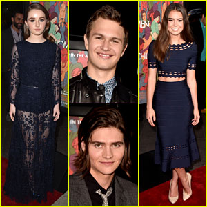 is ansel elgort dating someone Fault in our stars' ansel elgort & girlfriend violetta komyshan split ansel elgort  ansel elgort and his  split because someone else with .