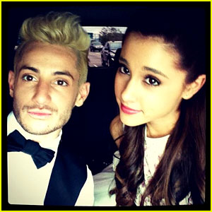 Ariana Grande 'So Proud' of Brother Frankie for Booking 'Rock of Ages' Role