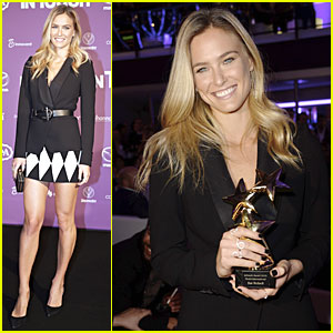 Bar Refaeli Gets International Model Honor at InTouch Awards