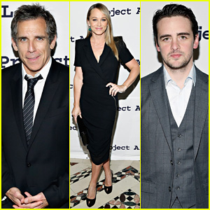 Ben Stiller & Wife Christine Taylor Step Out to Support ALS at Tomorrow Is Tonight Gala 2014!