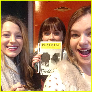 Blake Lively & Alexis Bledel Have 'Sisterhood of the Traveling Pants' Reunion at America Ferrera's Broadway Show