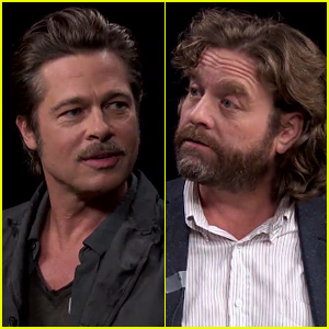 Brad Pitt Sits Down with Zach Galifianakis For the Craziest 'Between Two Ferns' Interview Ever - Watch Now!