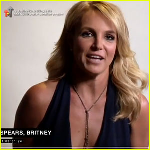 Britney Spears Auditions to Play Andy Murray's Girlfriend in Fake Movie (Video)