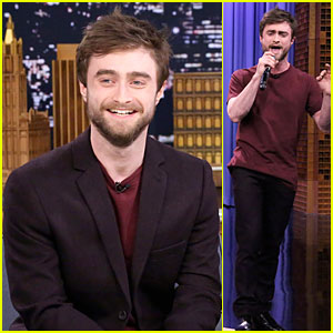 Watch Daniel Radcliffe's Impressive Rap on 'Fallon'!
