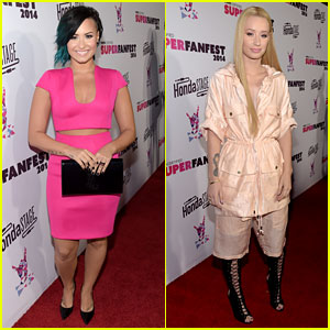 Demi Lovato & Iggy Azalea Give Vevo Fans a Special Concert