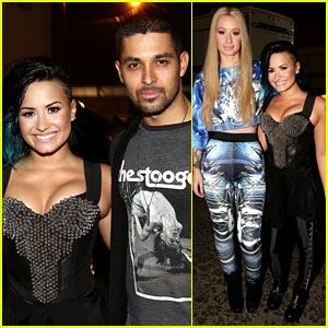 Demi Lovato Gets Support from Boyfriend Wilmer Valderrama at Vevo Concert!