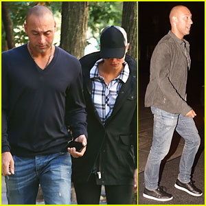 Derek Jeter & Hannah Davis Shoot Down Long Island Wedding Rumors By Being in NYC