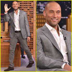 Derek Jeter Talks Last Game Being Like His Funeral on 'The Tonight Show' - Watch Here!