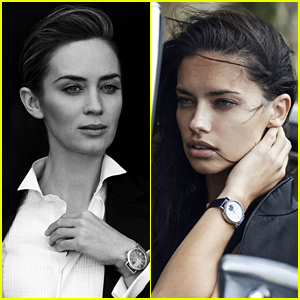 Emily Blunt & Adriana Lima Star in IWC's Portofino Collection Alongside Other Celebs!