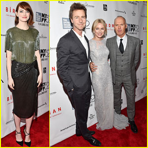 Emma Stone & Naomi Watts Get All Dressed Up for the New York Film Festival