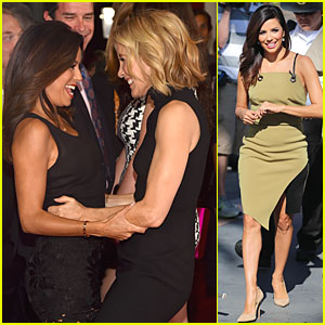 Eva Longoria & Felicity Huffman's 'Desperate Housewives' Reunion Is the Cutest Thing Ever!
