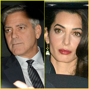 George & Amal Clooney Keep the Wedding Celebrations Going