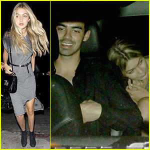 Gigi Hadid & Joe Jonas Take The Same Car to Kings of Leon Concert After Party