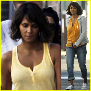 Halle Berry Puts On Her Serious Face for 'Kidnap'