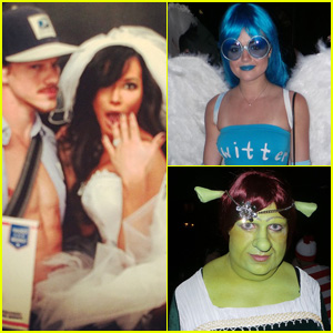 Celebs Are Starting Halloween Early - See All the Costumes!
