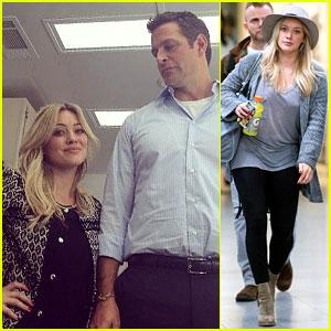 Hilary Duff Joins Mariska Hargitay's Hubby on 'Younger' Set!