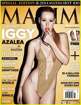 Iggy Azalea Slams Her Australian Label Over This 'Maxim' Cover