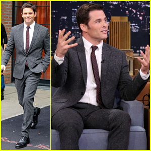 James Marsden Promotes 'The Best of Me' on Jimmy Fallon