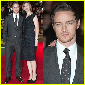 James Mcavoy 2014 Wife Anne Marie Duff Photos...