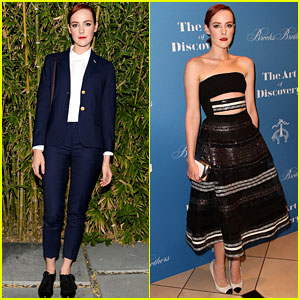Jena Malone Rocks Two Chic Looks for One Long Night Out!