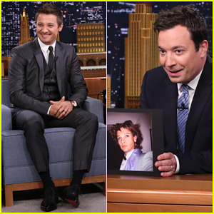 Jeremy Renner Shares His Funniest Photos on the 'Tonight Show' - Watch Now!