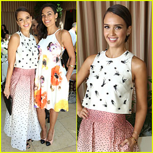 Jessica Alba & Rosario Dawson Have 'Sin City' Reunion at 'Self' Luncheon