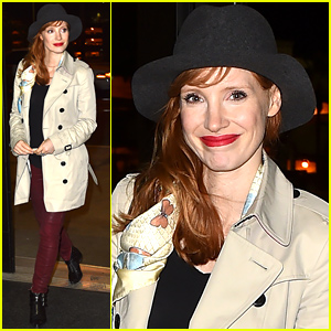 Jessica Chastain Discloses Information About 'Interstellar' & Can't Stop Gushing About It: 'It's Great'