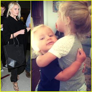Stupendous Jessica Simpson Has A Hot Chocolate Date With Maxwell Amp Ace Ace Easy Diy Christmas Decorations Tissureus