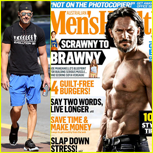 Joe Manganiello Is Totally Shirtless & Buff for 'Men's Health Australia' November 2014