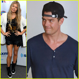 Josh Duhamel Hits LAX Before Fergie Sings National Anthem at Clippers Game