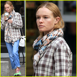 Kate Bosworth Goes Make Up Free For Her Coffee Run